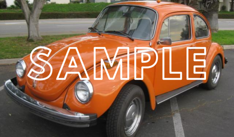 New Volkswagen Beetle 1990 full